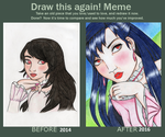 Draw this Again! Meme by Libelulaly