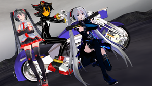 [MMD] Awesome Trio Pose Pack by CremePuffMarshmallow