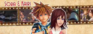 Sora and Kairi | Timeline Facebook by Howie62