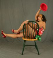 Burlesque Pinup 16 by MajesticStock