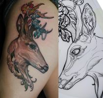 deer by tattooneos