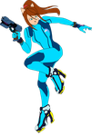 Zero Suit Samus (ScribbleNetty) by DragonDaak