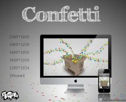 Confetti Wallpaperpack by 2tobi7
