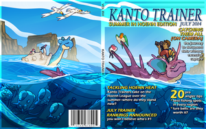 The Kanto Trainer July 2014 Issue by CoryKatze