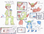 Eevee TF / Glaceon Evolution by Thwill