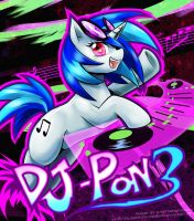 DJ PON3 in the house! by slifertheskydragon