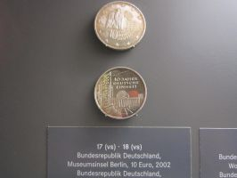 Coin of the Tenth Anniversary of German Unity by AudeS