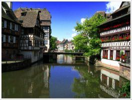 Streets of Strasbourg - 2 by Andrei-Joldos