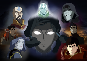 The legend of Korra Wallpaper (original) by Kotrex