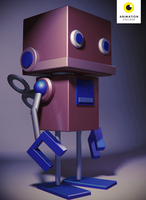 Robot - Joe Ramage by AnimationCollegeNZ