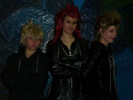 Roxas, Axel, and Demyx :3 by Bl4cK-LoTu5