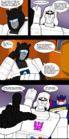 Teasing Laserbeak by Comics-in-Disguise