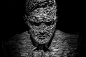 Alan Turing by tpphotography