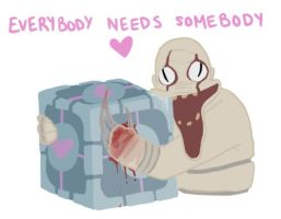 Everybody needs somebody. by Magical-Jar-Of-Dirt