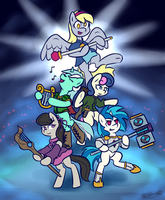 Five's A Party by Rivibaes