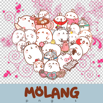Molang Png's by iTutosCreativeRawr