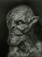 Creature Portrait by x-ste-x