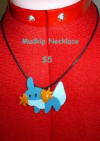 Mudkip Necklace by CynicalSniper