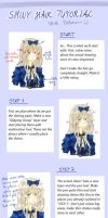 Shiny Hair Tutorial by Miy-u-Chan