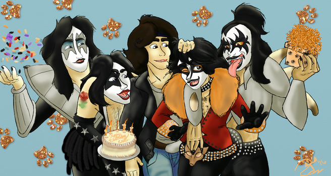 Band Birthday Bash by TheRompinBlackCat