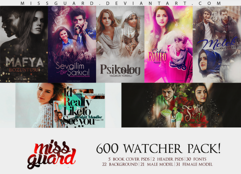 600 WATCHERS PACK by MisSGuaRD