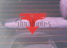 Kagaku Ninja Tai Gatchaman: Car Decal by Shunhades