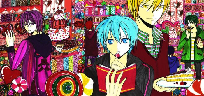 Candy Heaven for Murasakibara.... by AkatsukiDDD