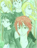 The teen vampires of Forks bg by Tora20