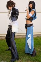 Squall and Rinoa Cosplay by Eyes-0n-Me