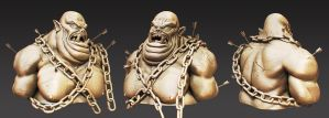 The Capture of Korg - zbrush model by 9thKnight