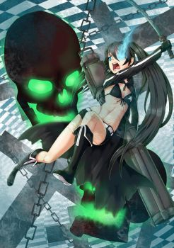 Black Rock Shooter by manic-pixie