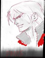 Sketch of Dante by Kandoken