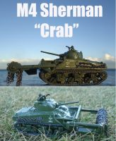 Real Steel M4 Sherman Crab by DingoPatagonico