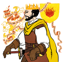 aSoIaF King Stannis Baratheon by jubah