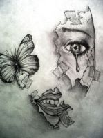 Pieces of your face by shaneyakuza