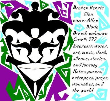 Broken Hearts Clan ID by dragonsalive