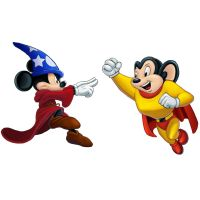 Player Select: Mickey Mouse VS Mighty Mouse by Garoooooh