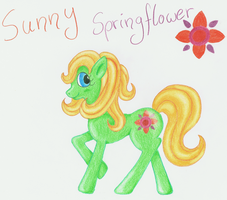 Pony Adoptable - Sunny Springflower by LuciaSeriin