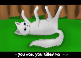 Cloudpaw: You won! by RosaSilverwolf