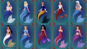 disney mermaids 2 by menolikee