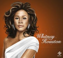 Whitney Houston by potrilloadr