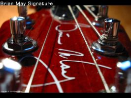 Brian May Signature by Fox82