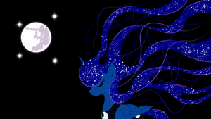 Princess Luna wallpaper by aguantegrimtales