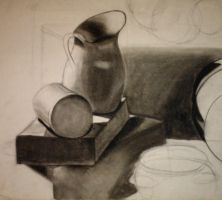 Pitcher in Charcoal by identityxXxunveiled