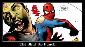 The Shut Up Punch by KeybladeMagicDan