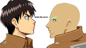Eren And OC Base by Kasumi121