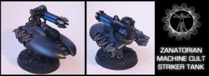 Zanatorian Striker Tank by Proiteus