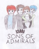 Sons of Admirals colour by EmileeExtreme