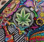 Drug Series 1: Marijuana by Darxen