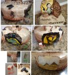 Tomb Raider cake details by Isa-Love-Anime